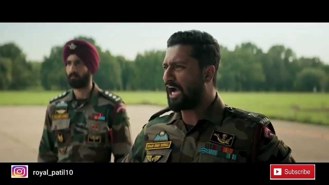 Download URI the Surgical Strike   Deleted Strike scene   Feel proud to be an INDIAN  