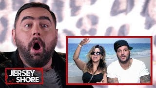 Snooki's BFF Reacts To Hot Mess Moments From 'Family Vacation' | Jersey Shore | MTV Reacts