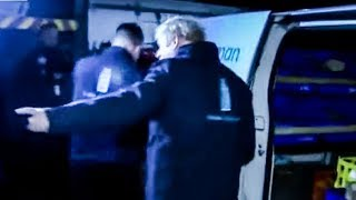 Boris Johnson HIDES In A Refrigerator To Avoid Reporter