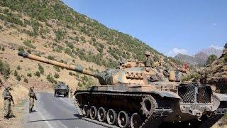 Turquia: 4 mortos, 19 feridos em operação militar turca contra o PKK em Sirnak