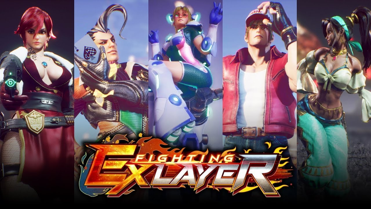 fighting ex layer all supers all dlc characters youtube fighting ex layer all supers all dlc characters