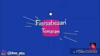 Fiersabesari-Temaram(lagu dan lirik)