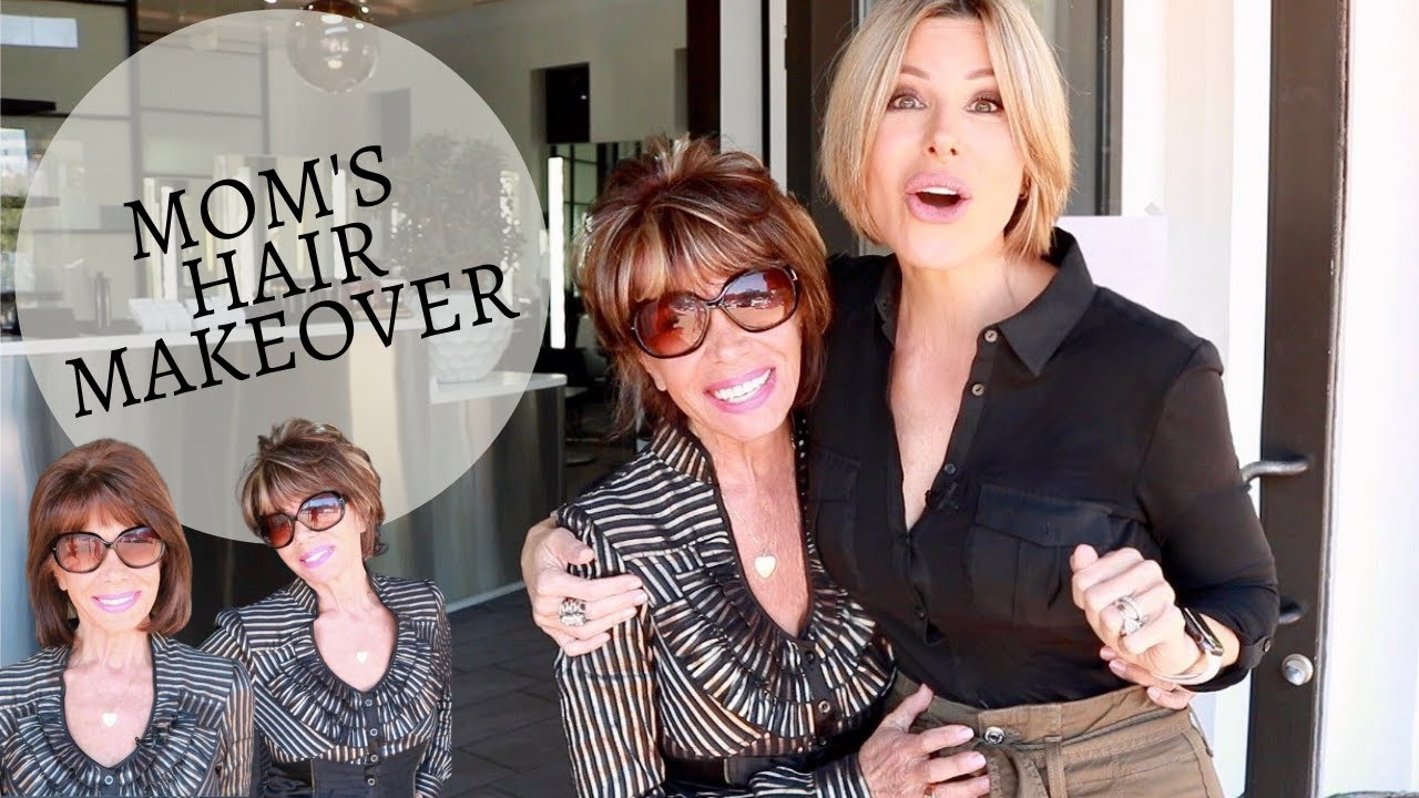 Mom's Hair Makeover! | Dominique Sachse