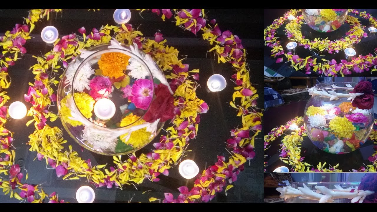 indian traditional center table decoration ideas for diwali 2