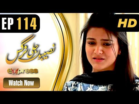 Naseebon Jali Nargis - Episode 114 - Express Entertainment Dramas