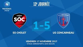 Cholet vs Concarneau full match