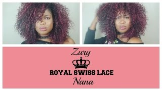 New Zury's Sis Wig| Royal Swiss Lace| Nana