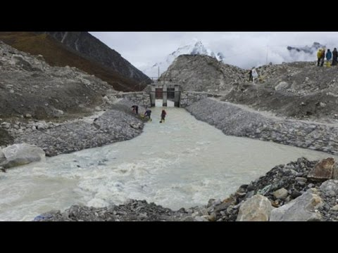 Nepal drains Imja glacial lake near Mt Everest