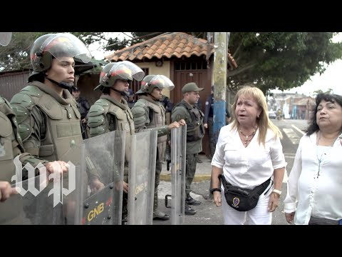 A day of violence at Venezuela's border