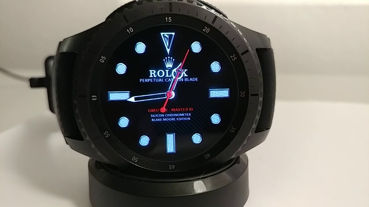 Rolex Second Hand Gear S3 Frontier Rolex Smooth Sweeping Motion Second Hand Watch Face By VÏntÓry Blake Moore