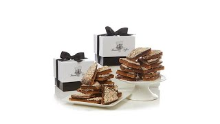 Brandini Toffee 2lbs. Almond Toffee in Gift BoxesReceive...