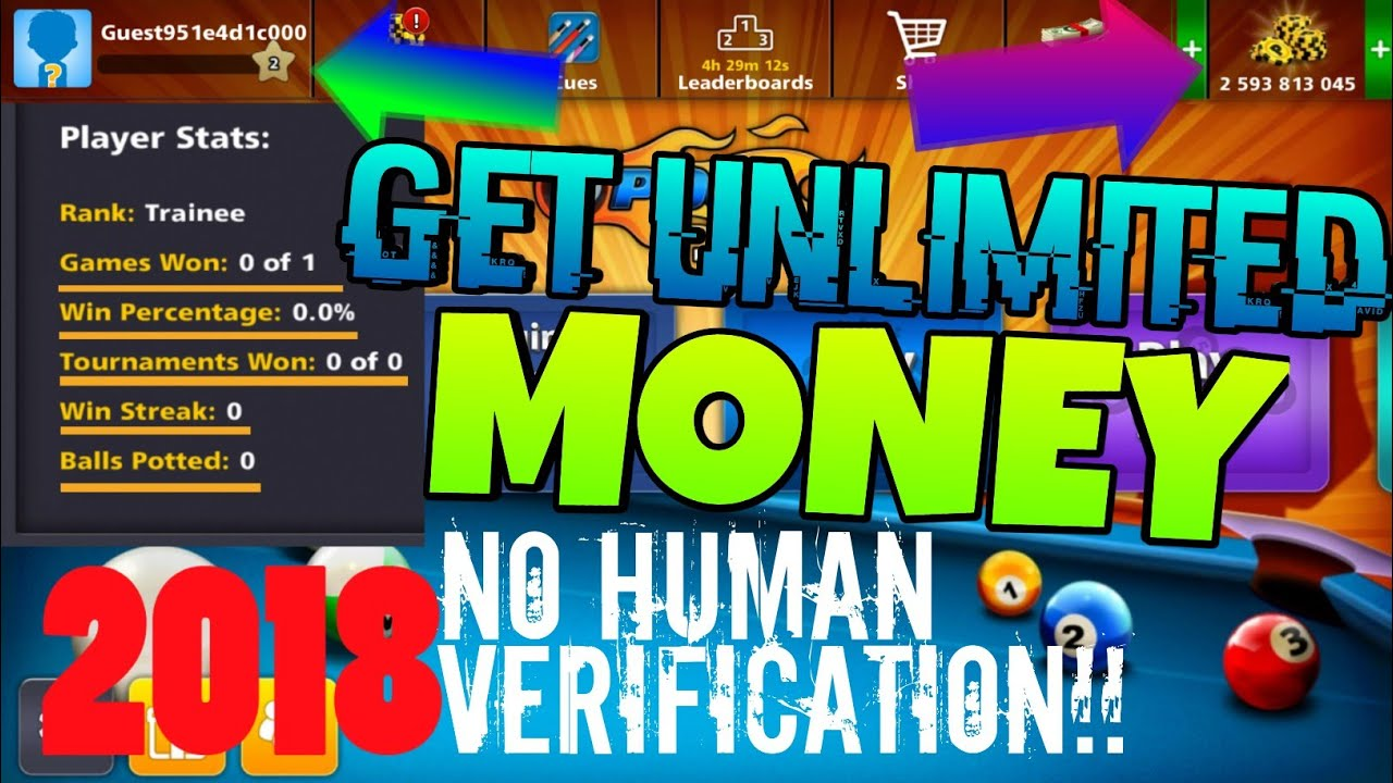 8 Ball Pool Generator App 8 ball pool hack ✓ [2018] latest version - no human verification , no root