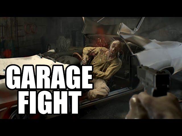 Behind Resident Evil 7 S Garage Scene Boss Fight Itech Post
