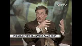 Bill Gates meets Aamir Khan