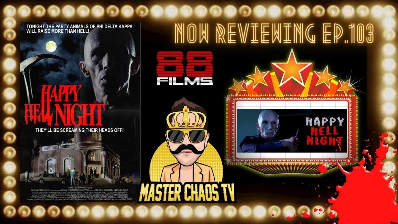 Download HAPPY HELL NIGHT Movie Review (88Films/ 1992/ A Halloween-set Slasher Classic?)
