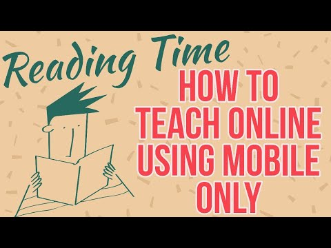 how-to-teach-online-using-mobile- how-to-teach-online-in-lock-down-easily- online-tutor-in-delhi