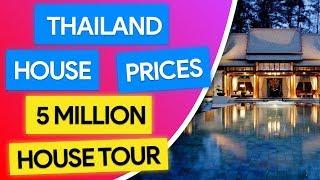 House Prices In Thailand 5 Million Thai House Tour