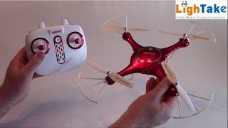 SYMA X5UW 720P WIFI FPV With 2MP HD Camera Review – Test video – Lightake