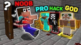 Minecraft NOOB vs PRO vs HACKER vs GOD : WHO STOLE A NOOB? Challenge in Minecraft (Animation)