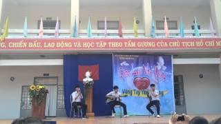 Sự thật sau 1 lời hứa guitar beatbox sáo trúc Thpt Nguyễn Chí Thanh TN