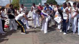 Associação de capoeira Ginga Brasil de Brumado