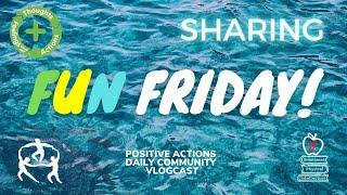 🥳 Fun Friday! Week 30 💜 Sharing, Compartir ⏰ April 16, 2021
