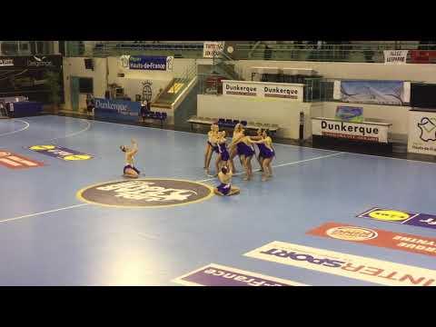 Grande danse twirl senior grâces twirling club championnat de france 2018 Dunkerque
