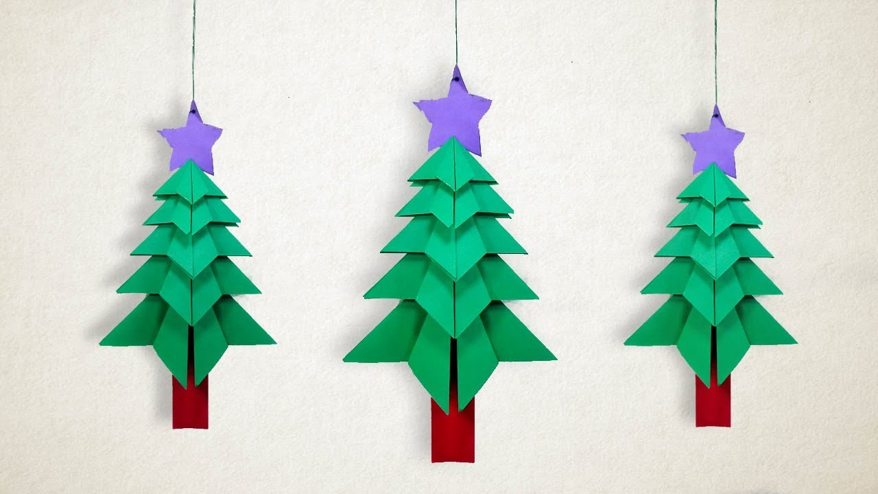 how to make a hanging christmas tree diy hanging christmas decorations