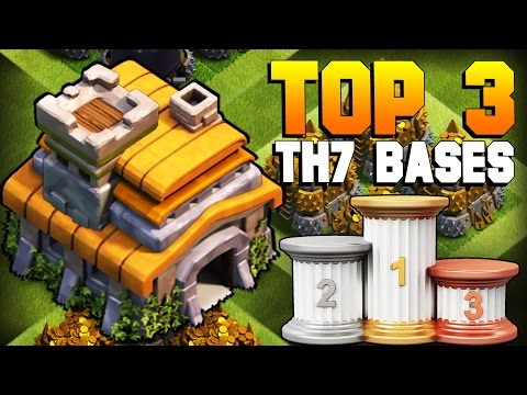 Clash of Clans | TOP 3 BEST TH7 Farming Base 2017 | CoC NEW Town Hall 7 Defense [TH7 2017]
