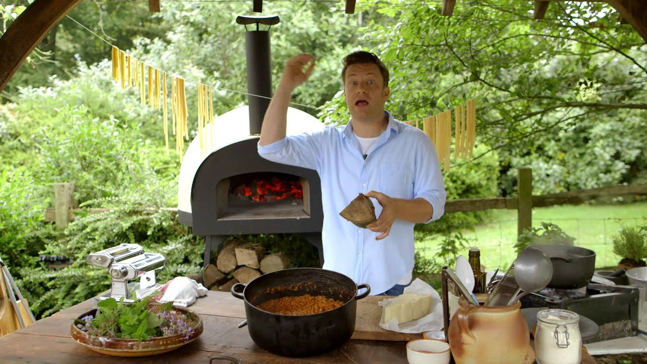 Jamie Oliver Cooks Wood Fired Rag 249 Youtube