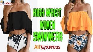 AliExpress: High Waist Women Swimwear / Bikini Slide Review