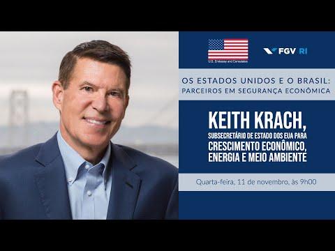 """Discurso do subsecretário dos EUA Keith Krach sobre """"EUA e Brasil: Parceiros em Segurança Econômica"""""""