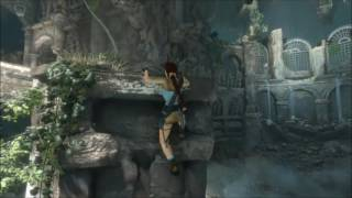 Rise of the Tomb Raider opening Level (with classic Lara Skins) PS4