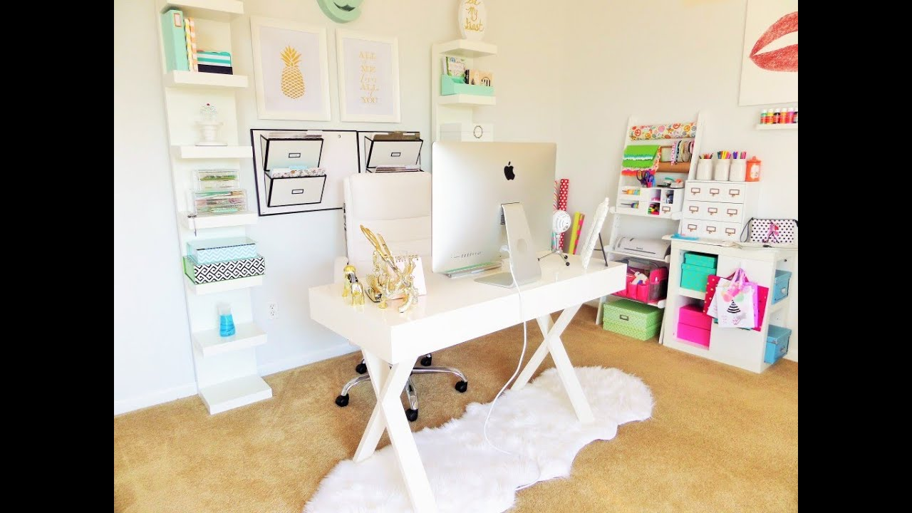 my home office. Home Office \u0026 Organization Tour: My Favorite Organized Space {Collab} - YouTube