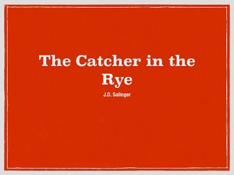 Catcher In The Rye Quote Summary Youtube