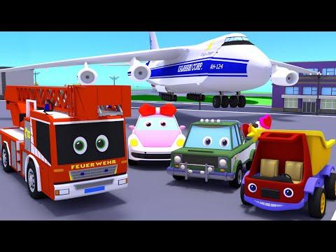 Развивающие мультфильмы. Все серии про гонки, транспорт,технику. Большой сборник. Машинки мультики