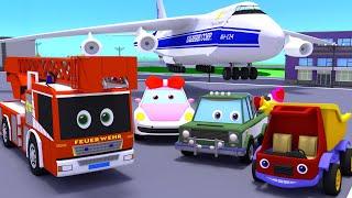 Развивающие мультфильмы для малышей. Большой сборник. Про технику, транспорт, гонки Машинки мультики