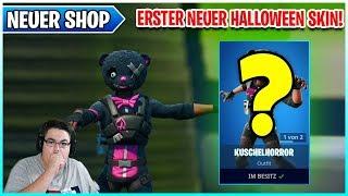 🐻 Der ERSTE Neue Halloween Skin KuschelHorror 🛒 Fortnite Shop von Heute 19.10