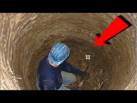 ظنوا أنه مجنون لأنه يذهب الي هذه الحفرة ويبدأ في الحفر كل يوم وبعد مرور 40 يوم صدم الجميع بما وجده