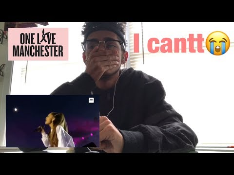 Ariana Grande- Somewhere Over The Rainbow (One Love Manchester) REACTION!!