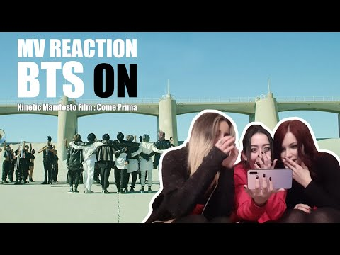 BTS (방탄소년단) 'ON' Kinetic Manifesto Film : Come Prima MV Reaction by AiSh!¿ (아이씨)
