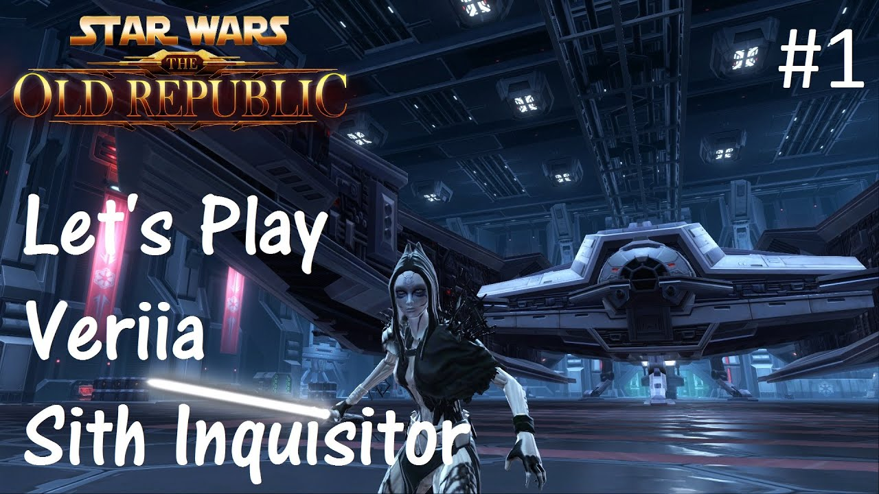 Let's Play SWTOR: Sith Inquisitor Part 1 [Setting The Scene]