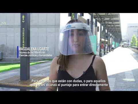 Experiencia de Magdalena Ugarte en Bachillerato en Ciencias Jurídicas y Humanidades