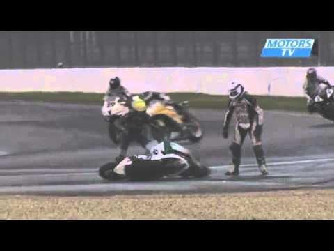 Funny Motorcycle Accident - YouTube