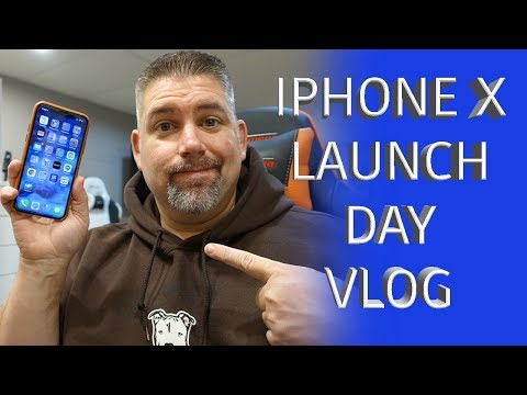Apple iPhone X First Look Vlog