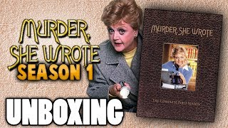 MURDER SHE WROTE: The Complete First Season DVD | UNBOXING