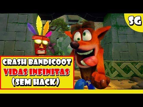 🔴 Crash Bandicoot 1 - Como conseguir vidas infinitas PS4 (Troféu On Cloud 99)