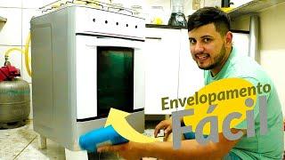 Como envelopar fogão - vídeo em detalhes | Luan Dourado