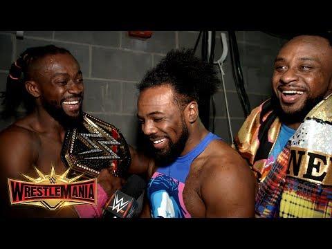 The New Day react to Kofi Kingston becoming WWE Champion: WWE Exclusive, April 7, 2019