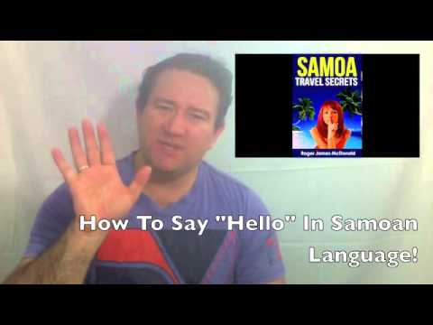 How to say hello in samoan language youtube how to say hello in samoan language m4hsunfo